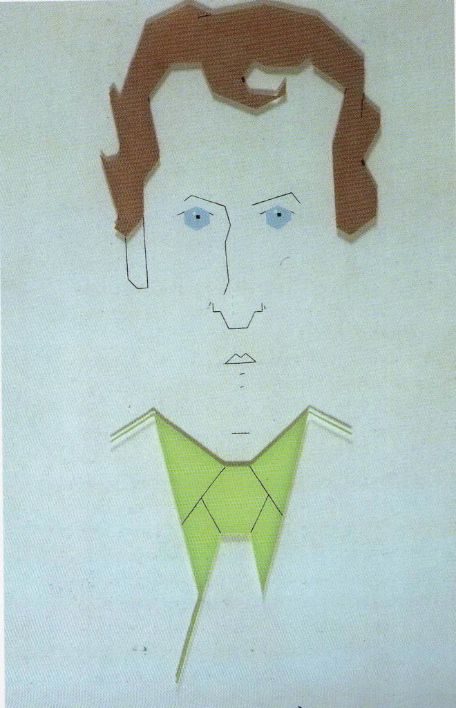 Portret Gerrit Komrij, 1979, coll. Literatuurmuseum, Den Haag